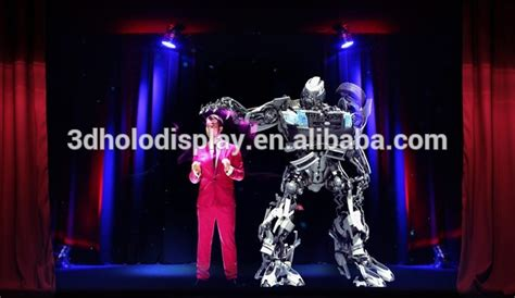 Buy Halloween Hologram Projector by Pepper S Ghost Projection Hologram Stage 3d Holographic