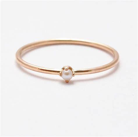 Geschenke Für 30 by Perlen Ring Stieg Gold Perlen Ringe Geschenke F 252 R Frauen