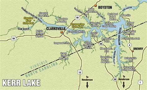 Blewett Falls Lake Boat Landings by Buggs Island Kerr Reservoir Best Carolina