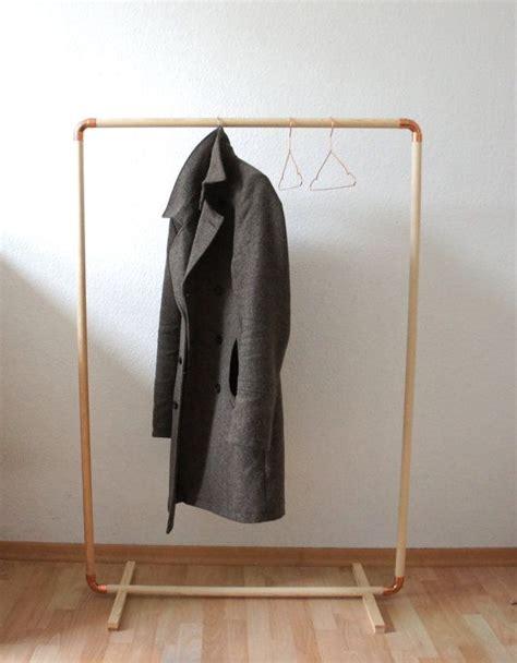 diy wood copper cloth rack diy clothes rack pipas