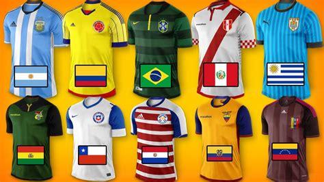 nuevas camisetas copa america  youtube
