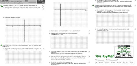 schulaufgaben mathematik klasse  realschule catlux