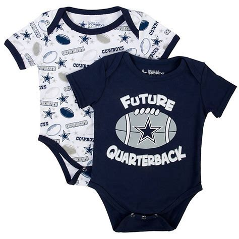 Dallas Cowboys Andy Bodysuit Set   Infant Outfits   Infant