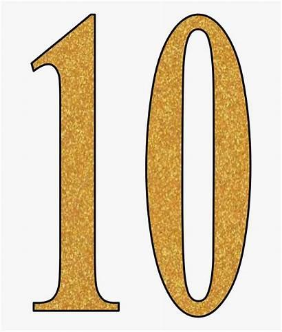 Number Clipart Glitter Transparent Kindpng