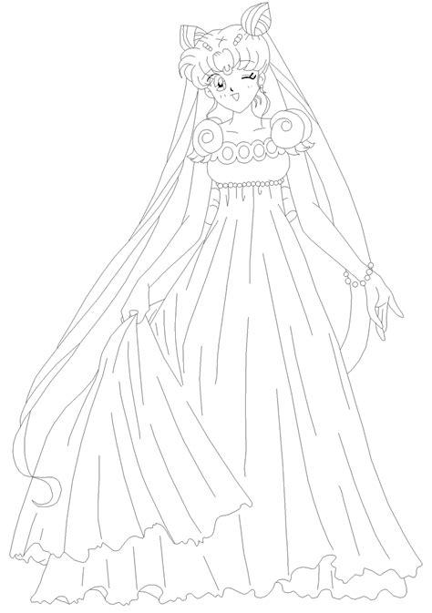 princess serenity coloring pages   print