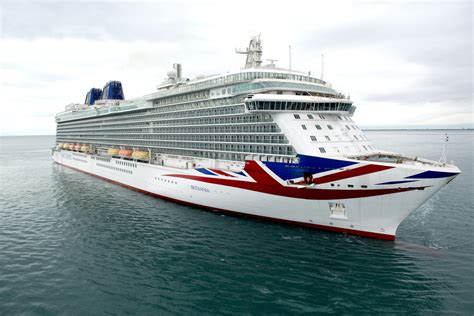 Pu0026O Cruises Celebrates Britannia Naming Ceremony Featuring Her Majesty Queen Elizabeth II ...