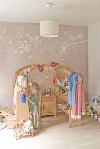 Wandgestaltung Kinderzimmer Mädchen : wandgestaltung f r ein m dchenzimmer kinder zimmer kinderzimmer und m dchenzimmer ~ A.2002-acura-tl-radio.info Haus und Dekorationen