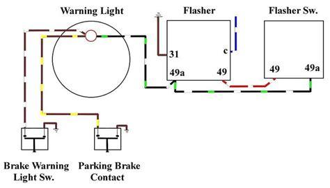 Brake Warning Light Switch Diagram by Blinking Brake Warning Light On Dash Pelican Parts Forums