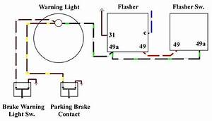 Blinking Brake Warning Light On Dash