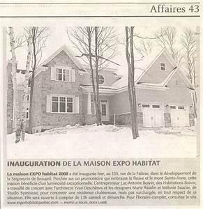 Exposition Soleil Maison : habitations boivin qui nous sommes dossier de presse ~ Premium-room.com Idées de Décoration