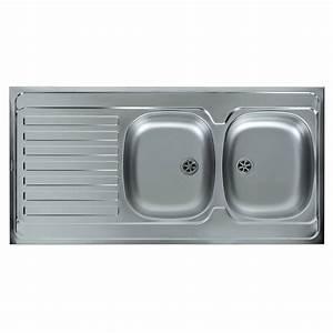 evier cuisine dimension 516u20ac evier de cuisine With salle de bain design avec evier inox 2 bacs