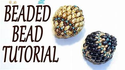 Bead Beaded Tutorial Beading Beads Tutorials Duo