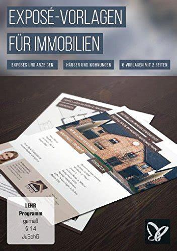 expose vorlagen fuer immobilien haeuser und wohnungen win
