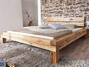 Sternenhimmel Schlafzimmer Selber Bauen : lias massivholzbett wildeiche ge lt 140 x 200 cm ~ Markanthonyermac.com Haus und Dekorationen