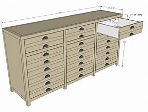 triple console cabinet woodworking plans - WoodShop Plans