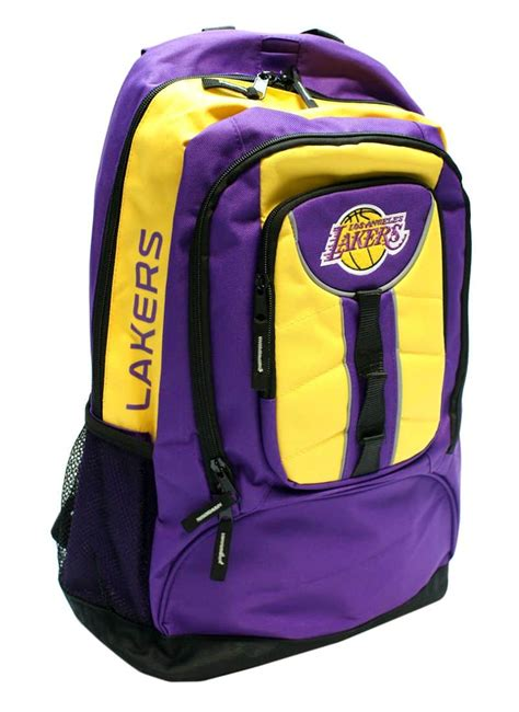Wore lakers gear through the boston airport once and jesus christ some of those people over there were unfriendly to me i just had a layover, didn't even think. Los Angeles Lakers Back Pack - Colossus Style - Detroit ...