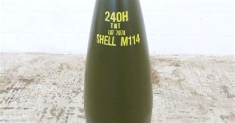 Shell Garage M1 by Inert Us Wwii 240mm M114 High Explosive Shell For Use
