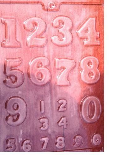 number candy molds ebay