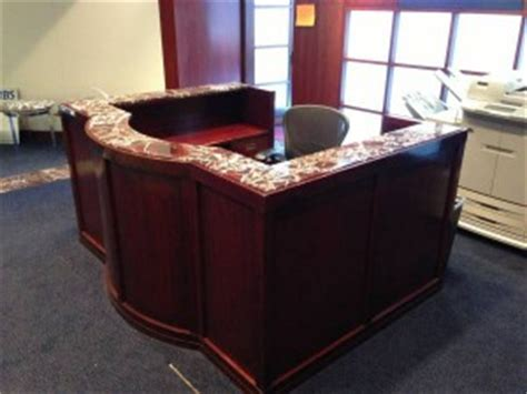 5 reception desks with high impact