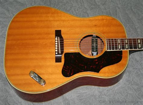 1961 Gibson Country Western Model, Natural Finish, Slope ...