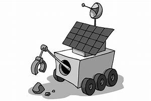 Space - Moon Rover III - Draw3DDraw3D
