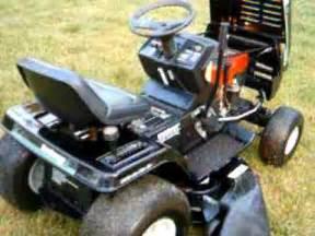 Yardman Mower Deck Belt Diagram by Mtd Yard Machines Riding Mower Youtube