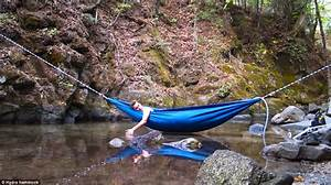 Hot Tub 39Hydro Hammock39 For Camping That Heats And