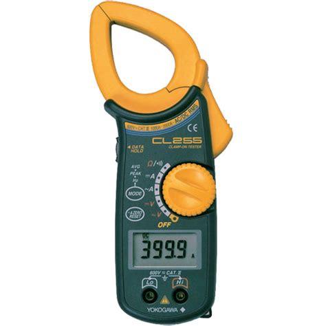 fluke cl meter yokogawa meter digital