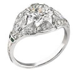 vintage deco engagement rings vintage engagement rings primestyle and jewelry and news