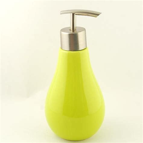 toilet soap dispenser lovely yellow bulb ceramic soap dispenser modern