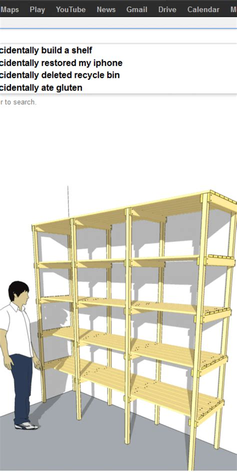 Build Help by Picture Imp Help I Accidentally Build A Shelf