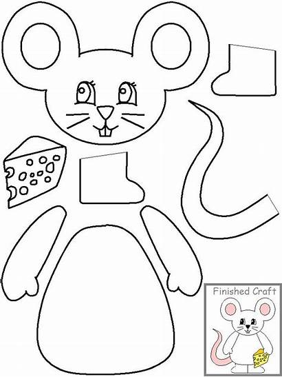 Cut Paste Craft Mouse Crafts Projects