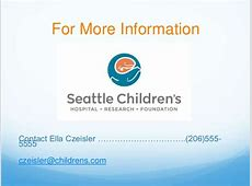 Mock Communications Profile of Seattle Children's Hospital
