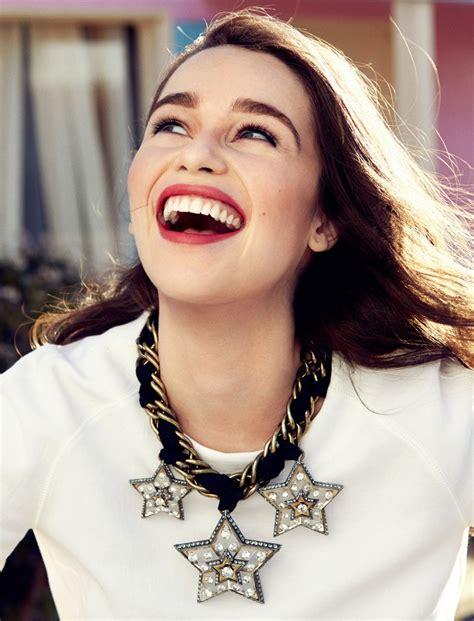 Emilia Clarke - Jason Kim Photoshoot for Glamour Magazine ...