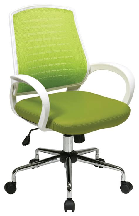 ave six collection office chair green executive