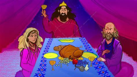 esther bible story 740 | slide 122