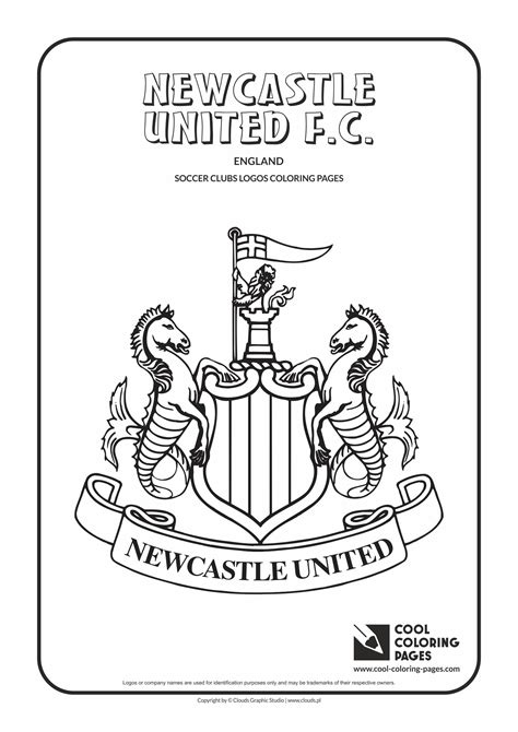 Cool Coloring Pages Newcastle United F.C. logo coloring ...