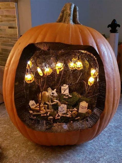 Made myself a pumpkin diorama! 😊   Easy halloween ...