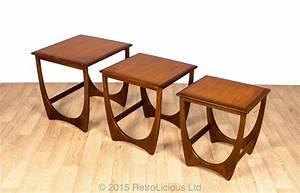 g plan fresco nested tables multifunctional teak With g plan fresco lamp table