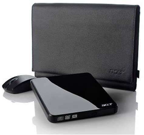 acer external dvd burner wireless mouse protective bag