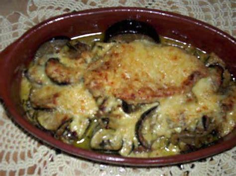 cuisiner aubergine poele recette d 39 escalopes de dinde gratinées au comté poêlée d
