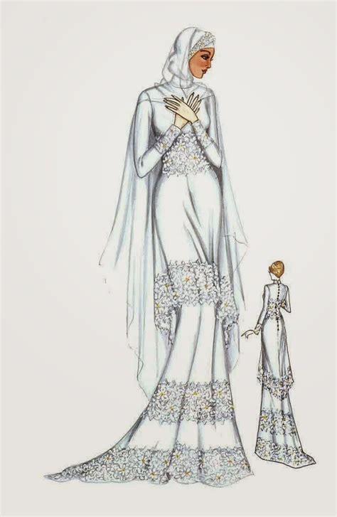 trend model baju muslim pengantin modern terbaru model baju muslim terbaru