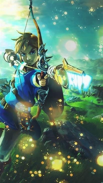 Zelda Link Legend Breath Wild Bow Iphone