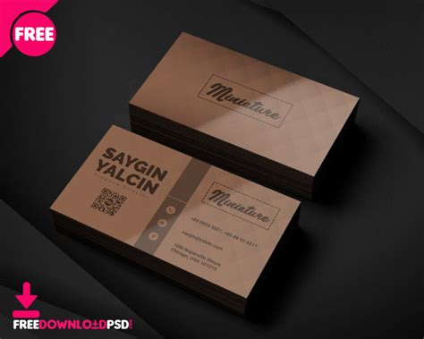 creative director business card freedownloadpsdcom