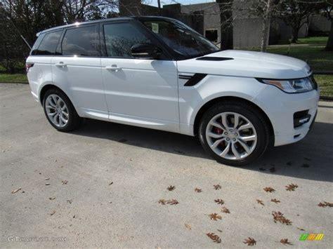 2017 Fuji White Land Rover Range Rover Sport Autobiography