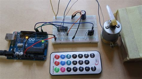 Arduino Motor Control With Remote Youtube
