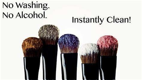 makeup brush spray cleaner brushes clean without alcohol washing diy cleaning wash instantly colors does vacuumcleaness switch