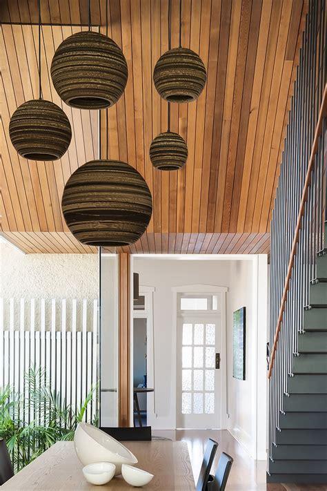 contemporary glass  wood house design house