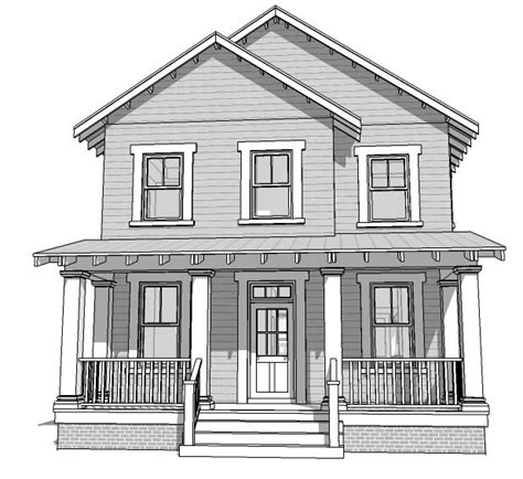house drawings house plan 70816 at familyhomeplans com