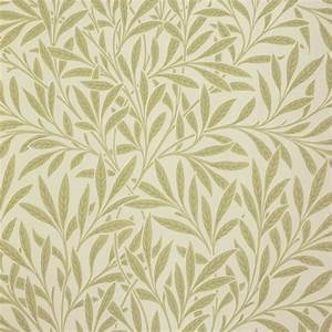 Willow Wallpaper - Olive (210383) - William Morris & Co